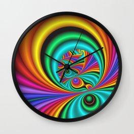 fractals are beautiful -21- Wall Clock
