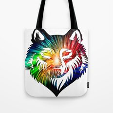 Wolf Universe Tote Bag