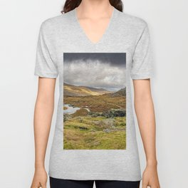 Cwm Idwal Snowdonia Wales Unisex V-Neck