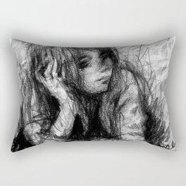 Thinker Dreamer Rectangular Pillow