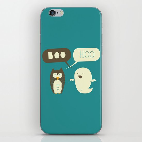 Boo Hoo iPhone & iPod Skin