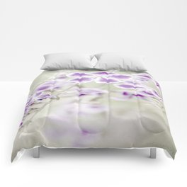 Darn Those Flowers Comforters