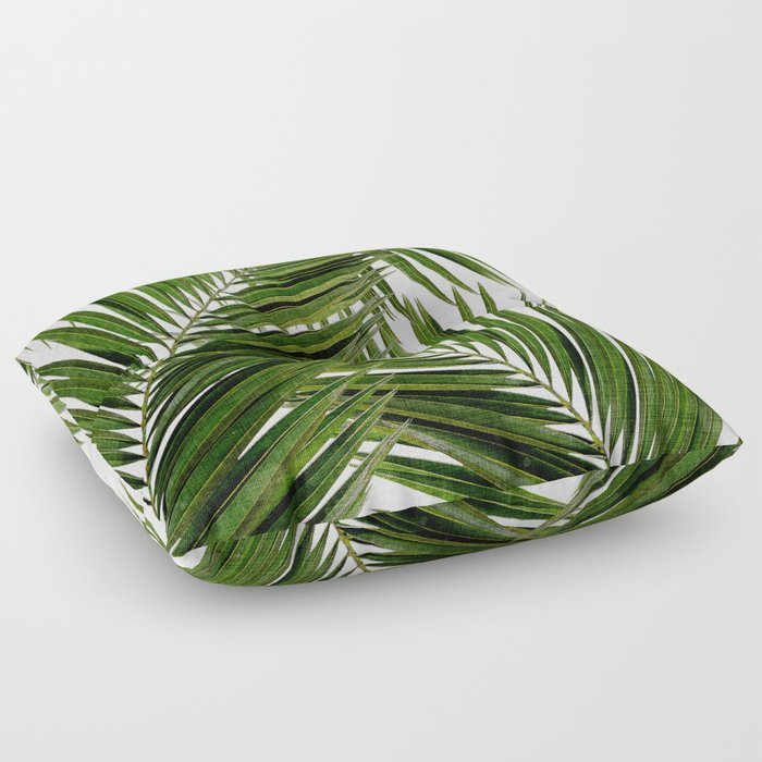 Palm Leaf III Floor Pillow