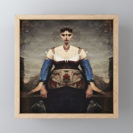 Corot Remixed Framed Mini Art Print
