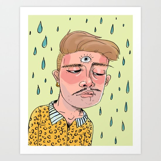Sad Enlightenment Art Print