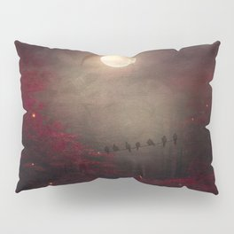 Red Sounds like Poem Pillow Sham