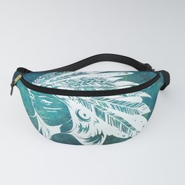 Moon Child Goddess Bohemian Girl Fanny Pack