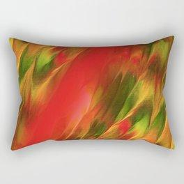 Melting in red / Sciogliersi nel rosso Rectangular Pillow