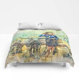 Animals Asia Buffalo Comforters