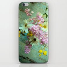 country flowers iPhone & iPod Skin