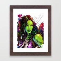 She-Hulk Framed Art Print