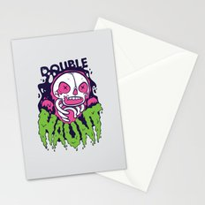 Double Haunt Stationery Cards
