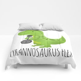 Tyrannosaurus Flex Comforters