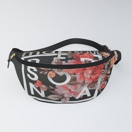 Map Of The Soul:Persona ver1 (Black) Fanny Pack
