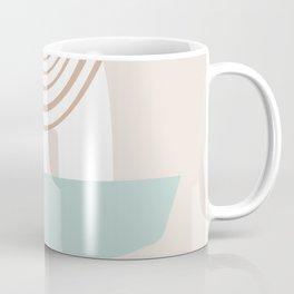 Modern Shapes #illustration #digitalart Coffee Mug