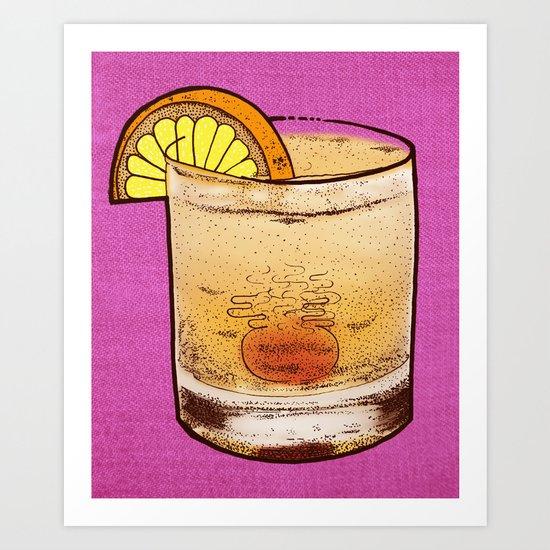 DRINK  Art Print