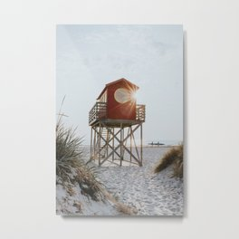 Summer at the beach - Landscape and Nature Photography Metal Print