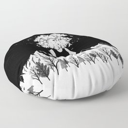 Across The Universe Floor Pillow
