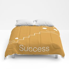 Failure is easy - A PromoteMe design Comforters