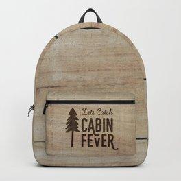 Lets Catch Cabin Fever Backpack