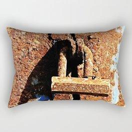 Rustic Lock Rectangular Pillow