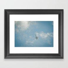 Swiss Airforce F-18 Hornet Framed Art Print