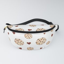 I Love Chocolate Chip Cookies Fanny Pack