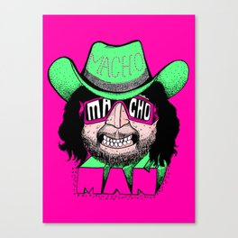 Macho Macho Man! (Randy Savage) Canvas Print