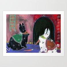 Lapino Room Art Print