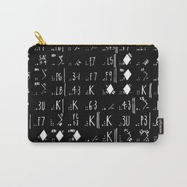 2016 World Series Game 7 Scoresheet Carry-All Pouch