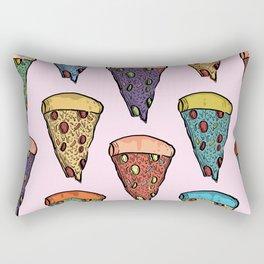 Wonky Pizzas! Rectangular Pillow