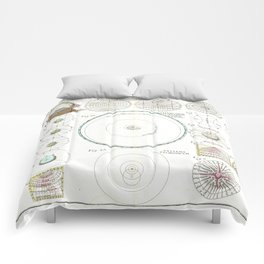 Homann Heirs Solar System Astronomical Chart Comforters
