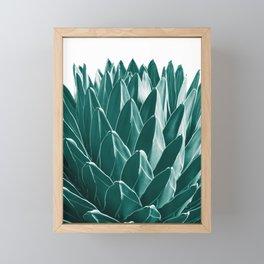Agave Chic #9 #succulent #decor #art #society6 Framed Mini Art Print
