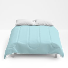 Powder Blue - solid color Comforters