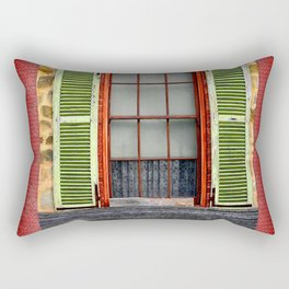 Window Shutters Rectangular Pillow