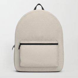 SONNET Light Neutral solid color  Backpack