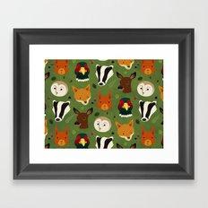 British Woodlands Framed Art Print