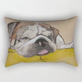 Mr Fatty Shortlegs Rectangular Pillow