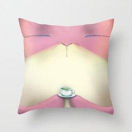 Mr. Bunny  Throw Pillow