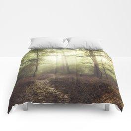 german rain forest Comforters