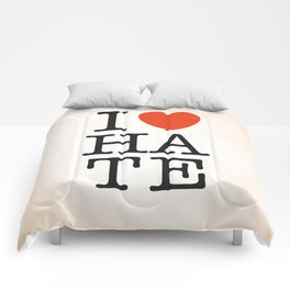 I love HATE Comforters