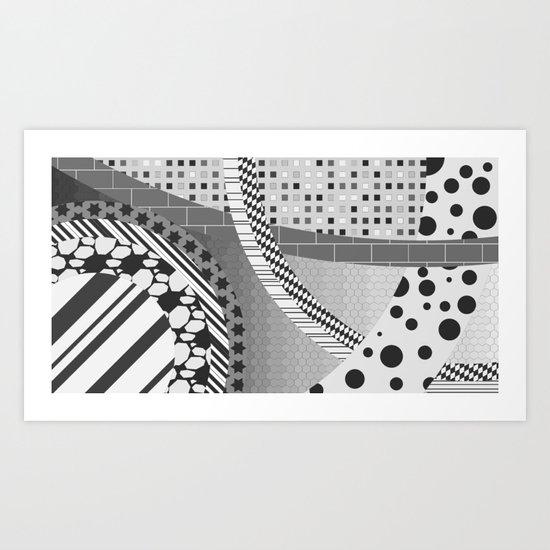 Part-2  Art Print