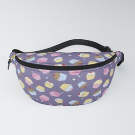 Sweet Purple Cupcakes Fanny Pack