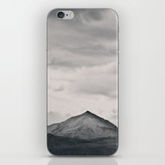 Mountain Peak and Plateau Black and White iPhone & iPod Skin