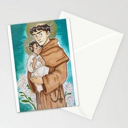 Saint Anthony of Padua Stationery Cards