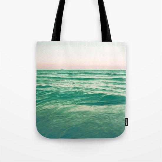 Pastel ocean Tote Bag