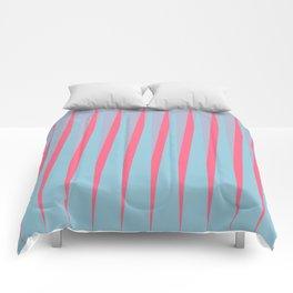 Vertical Slant Comforters