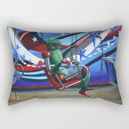 Lonely Robot 10 Rectangular Pillow
