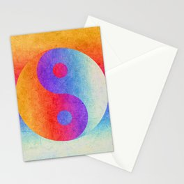 Yin and Yang II Stationery Cards