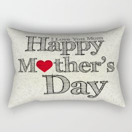Happy Mother's Day Rectangular Pillow